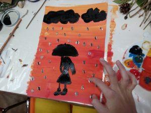 Jesenný dážď
