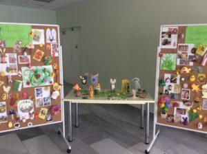 Výstava výrobkov detí